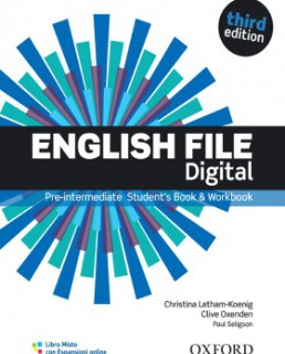 English File 3rd edition pre-intermediate digital
