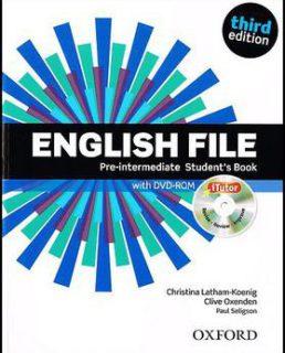 English File Pre-intermediate Students book1