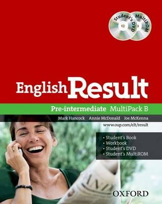 English Result Pre-intermediate Multipack B