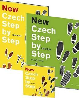 foto ucebnice Czech step by step cestina