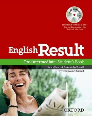 English Result Pre-intermediate Students book 2