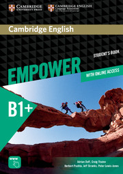 Empower B1 plus with online practice